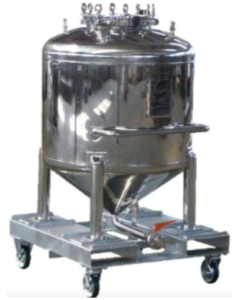 Stainless steel Tank for cosmetic liquid