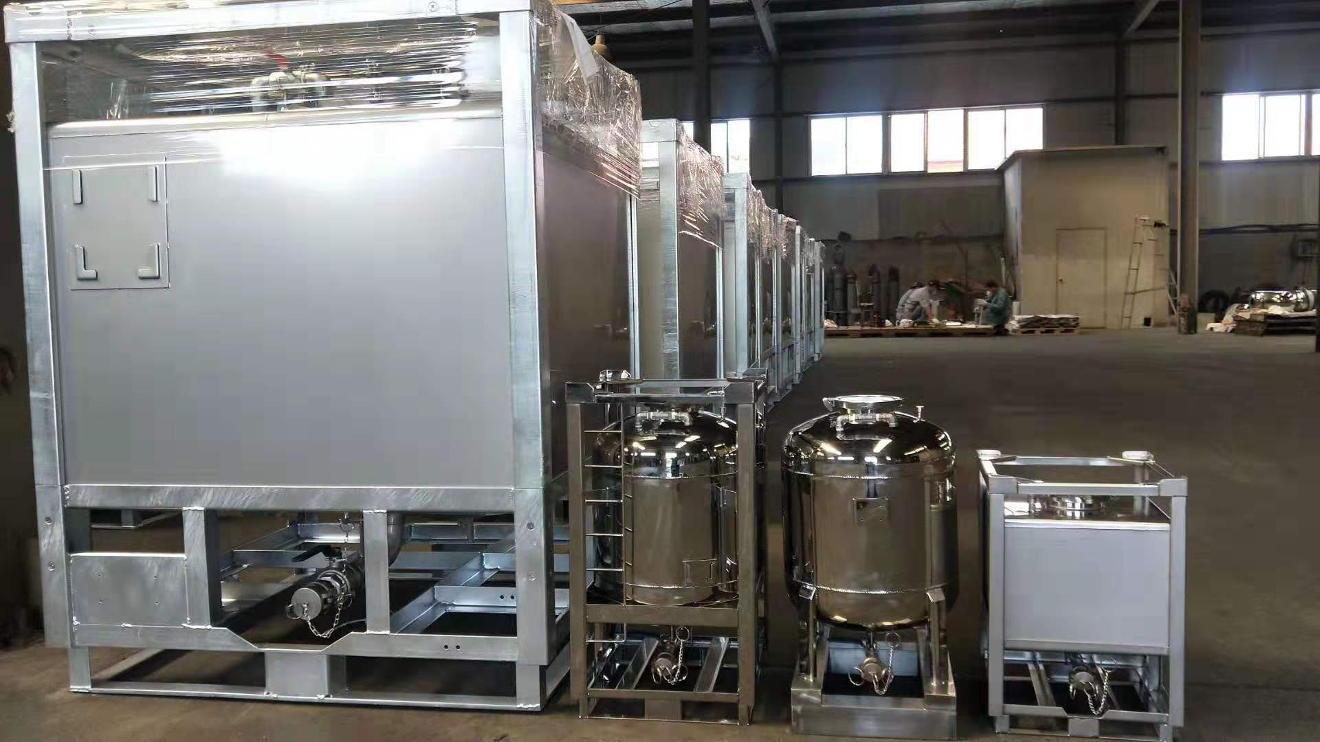 stainless steel Ibc 1000L UN test passed