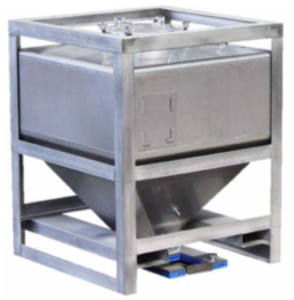 Stainless steel IBCs/Tank for solid bulk material