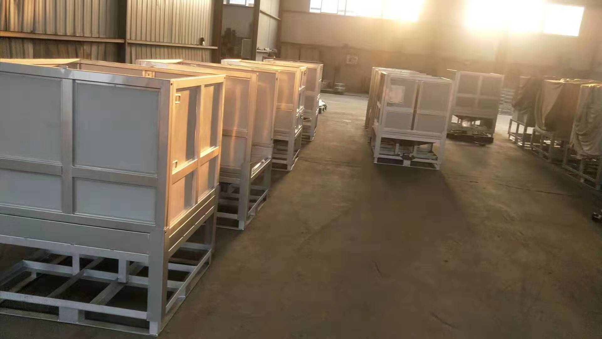 Folding Stainless steel Container for liquid storage and transport