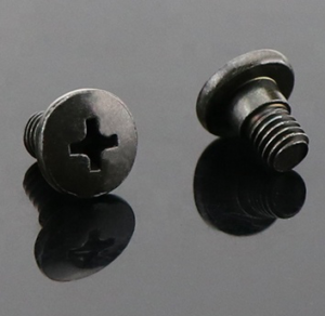 custom machine screws with thin cross-section and stepped steps